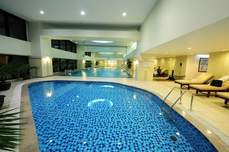 Gạch mosaic bể bơi Hafuco