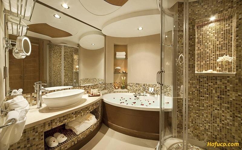Địa chỉ cung cấp gạch kính mosaic cao cấp chất lượng ở Hà Nội - gạch mosaic Hafuco