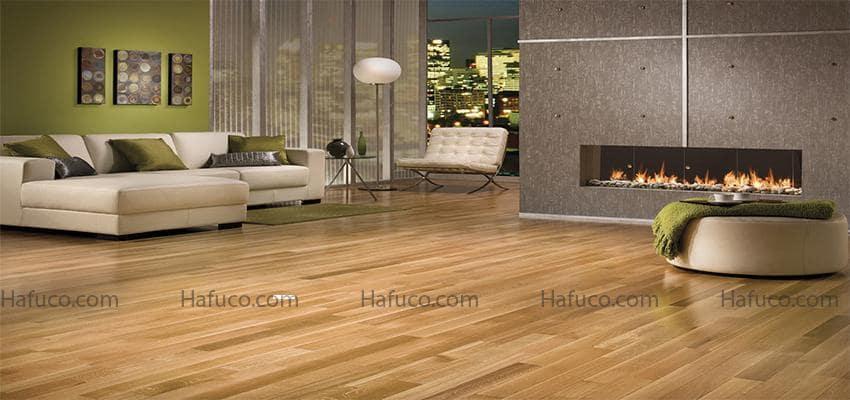 Ưu điểm của sản phẩm sàn nhựa giả gỗ trong nhà cao cấp - sàn nhựa Hafuco