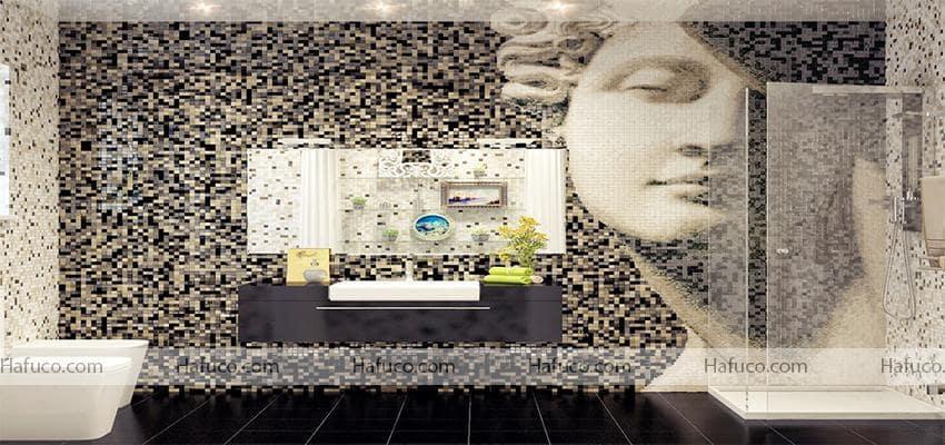 Vì sao gạch mosaic được sử dụng làm gạch trang trí được ưa chuộng - gạch mosaic Hafuco