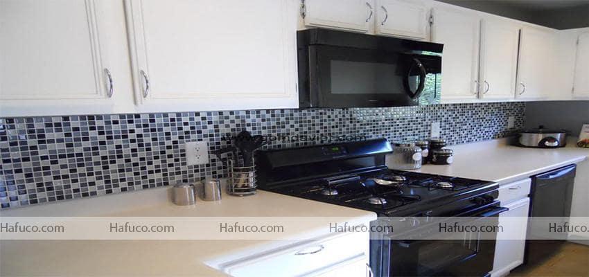 Gạch mosaic ốp nhà bếp