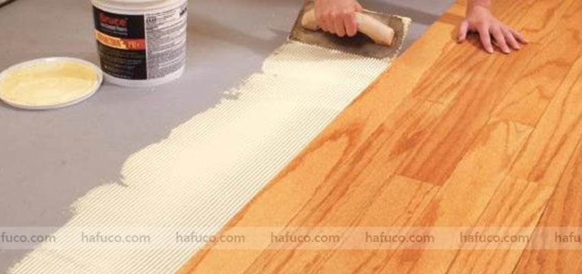 Thi công sàn nhựa vân gỗ ngoài trời đúng cách