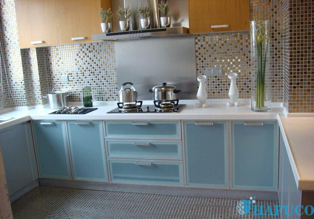Lựa chọn gạch mosaic ốp nhà bếp có đắt không? - gạch mosaic ốp bếp Hafuco