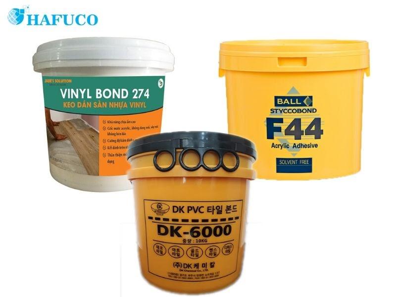 Các loại keo dán sàn nhựa phổ biến trên thị trường