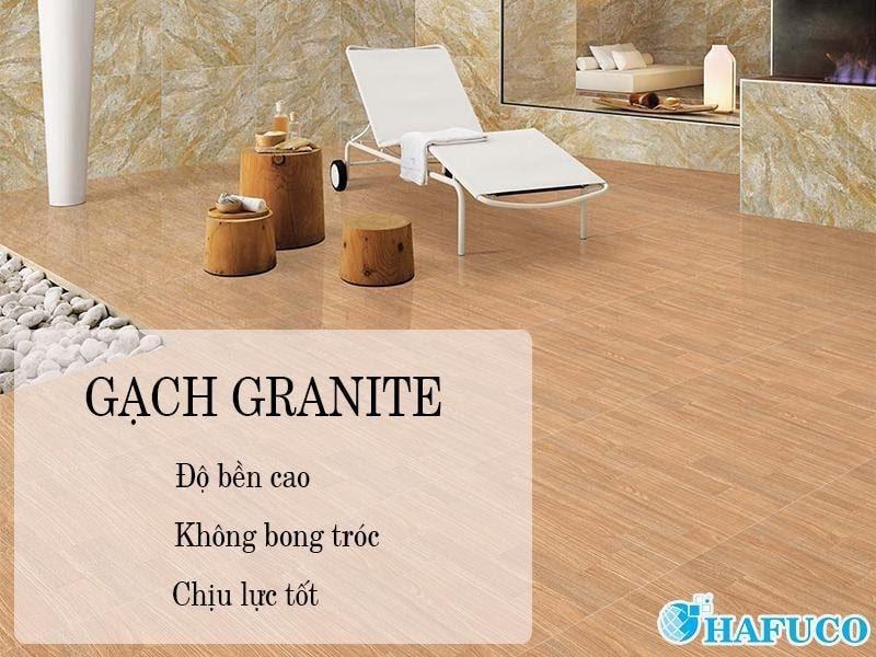 Đặc điểm nổi bật của gạch granite